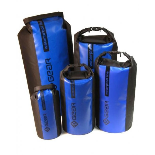 K-Gear Tex Bag m/blå stribe 40 liter