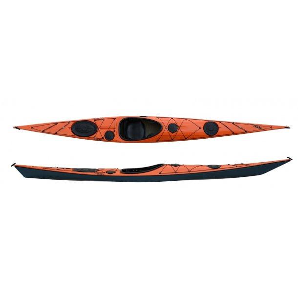 Rebel Kayaks Husky, kevlar/diolen