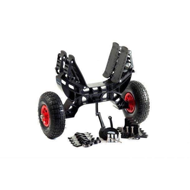 RUK Kombi Trolley kajakvogn og tagholder