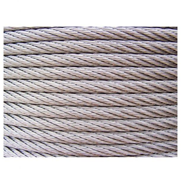Wire til finne, rustfri 3 mm