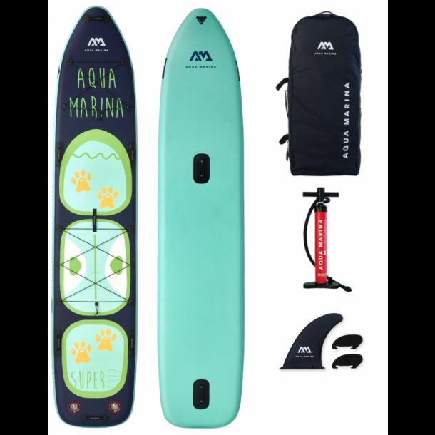 Aqua Marina Super Trip Tandem 14'0 Oppustelig Allround SUP - Pakke