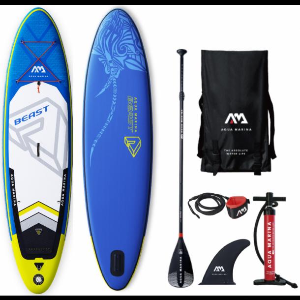 Aqua Marina Beast 10'6 Oppustelig Allround SUP - Komplet pakke